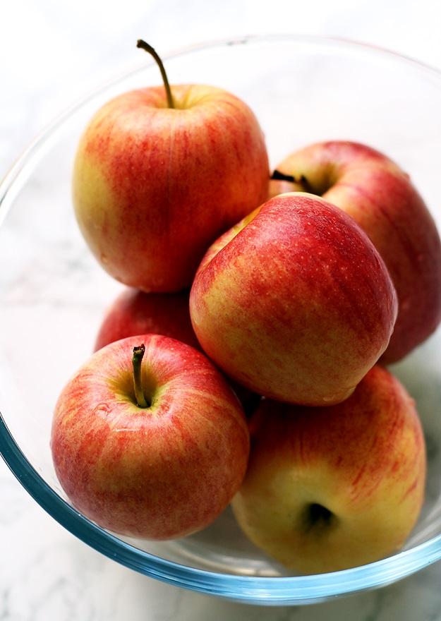 Äpfel für Apfelstrudel Rezept
