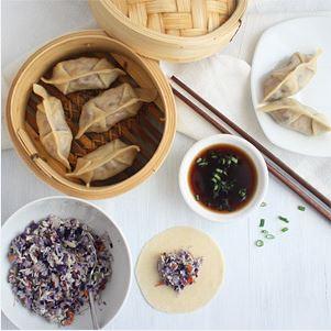 Jiaozi – Vegetarische Dumplings