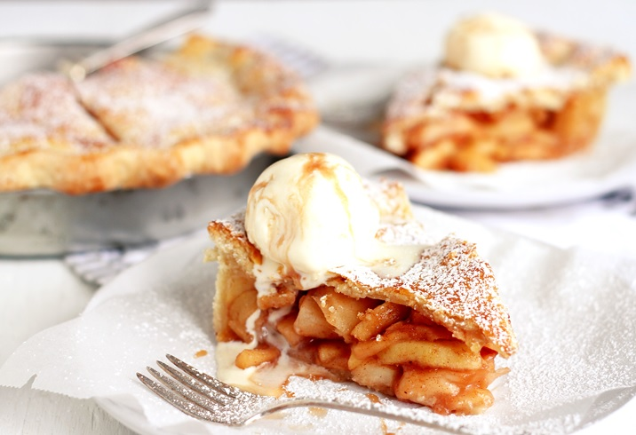 American Apple Pie einfaches Rezept