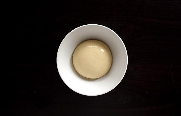 Teig für einen gezogenen Apfelstrudel (Rezept)
