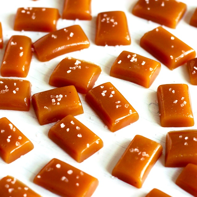 Apple Cider Caramels – Süßmost-Karamellen