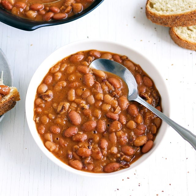 Schnelle Boston Baked Beans