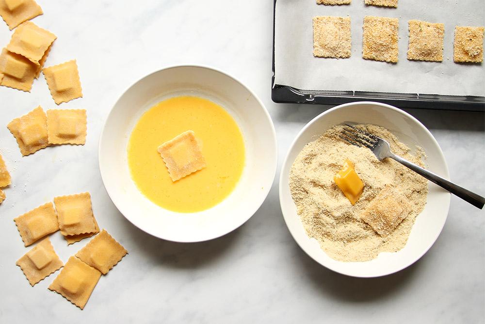 Baked Ravioli Rezept