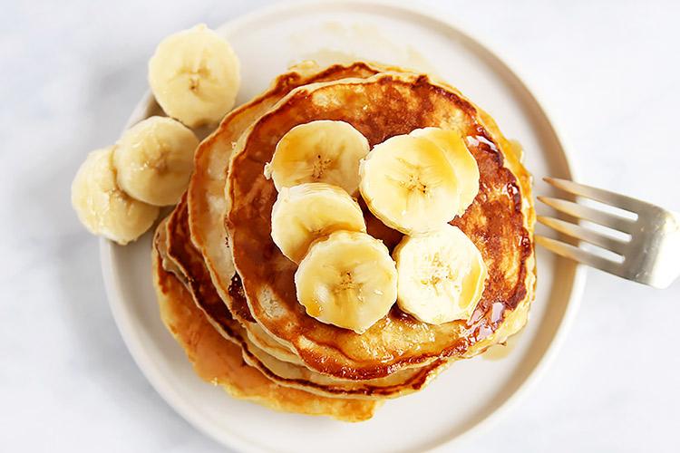 Banana Pancakes einfaches Rezept