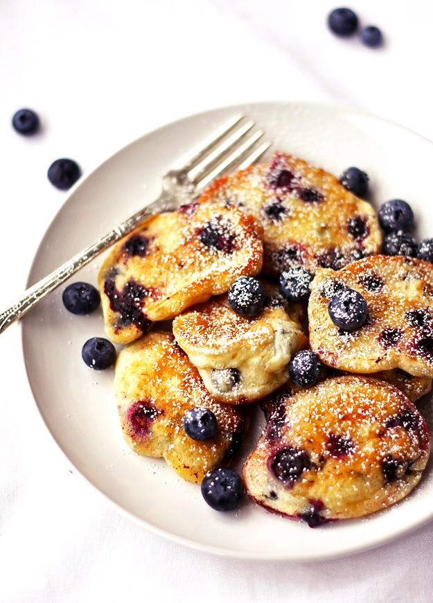 Super luftige Blaubeernocken Rezept | Tasteoftravel.at