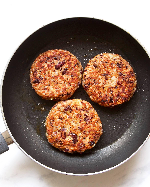 Bohnenpatty Rezept Burger