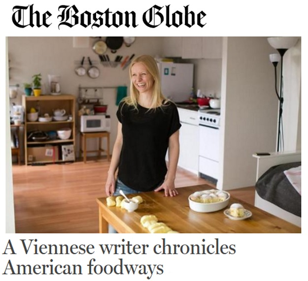 Ursula Schersch im Boston Globe