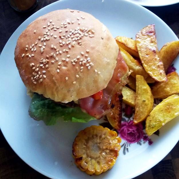 Burgerbrötchen von Userin nachgekocht