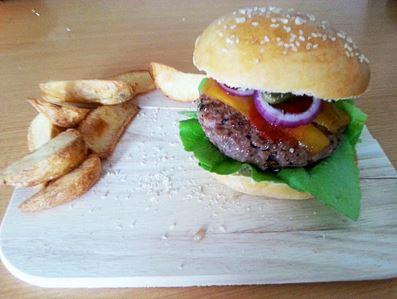 Cheeseburger von User nachgekocht