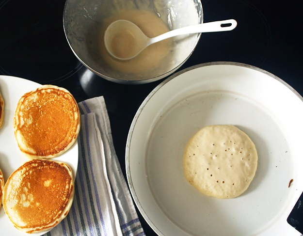 Buttermilk Pancakes backen