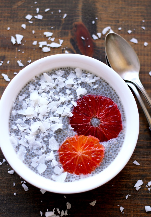 Chiapudding mit Kokosmilch Rezept