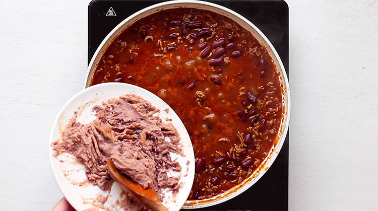 Chili con Carne Sauce verdicken