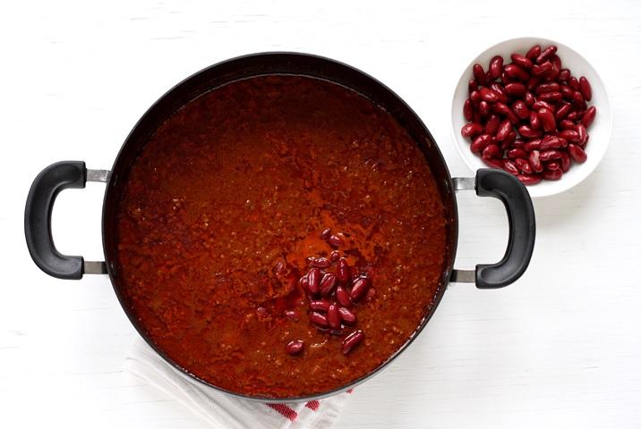 Chili con Carne mit Bohnen