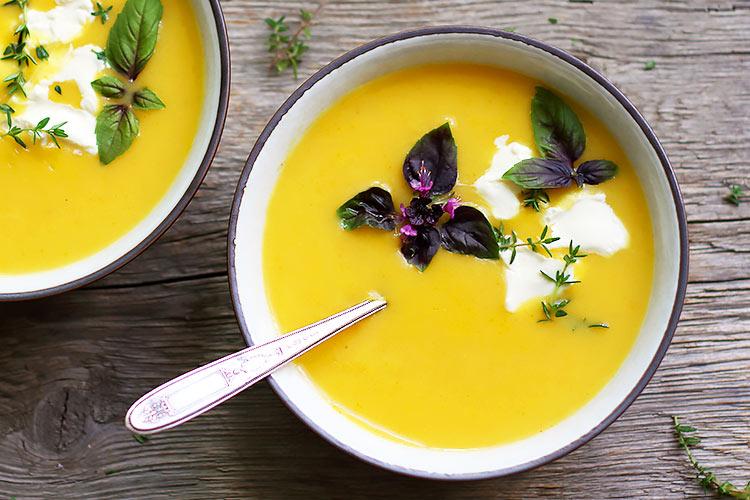 Cremige Gemüsesuppe einfaches Rezept