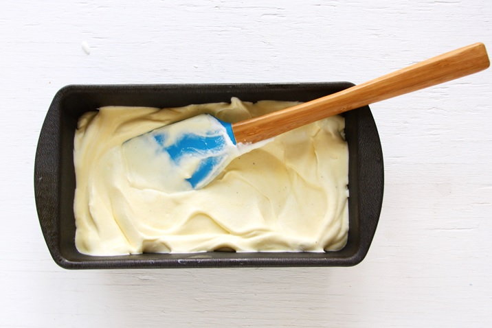 Cremige Kokos-Eiscreme