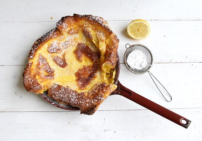 Schritt für Schritt Rezept Ofenpfannkuchen