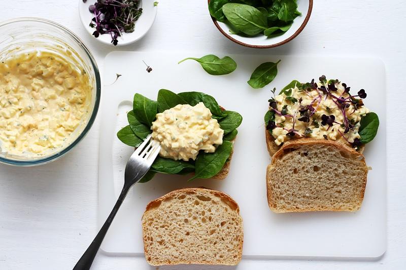 Amerikanisches Egg Sandwich Rezept