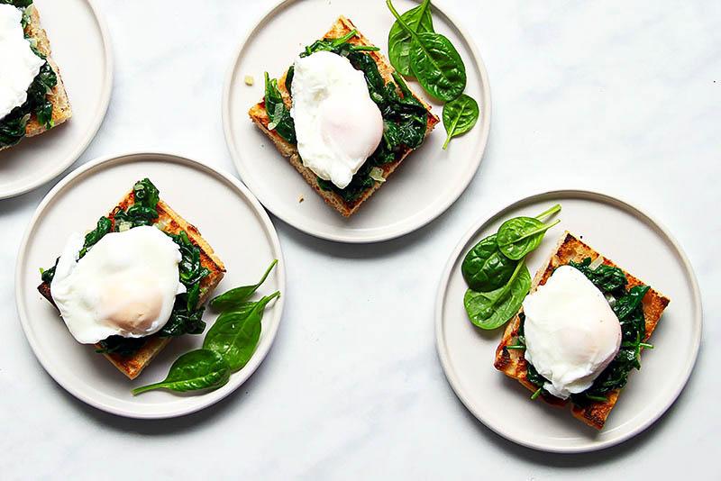 Eggs Florentine Rezept einfach