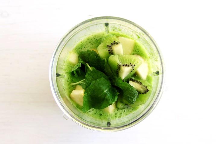 Einfacher Grüner Smoothie Rezept