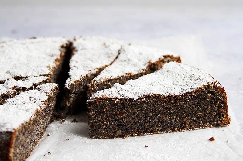 Einfacher Mohnkuchen glutenfrei Rezept