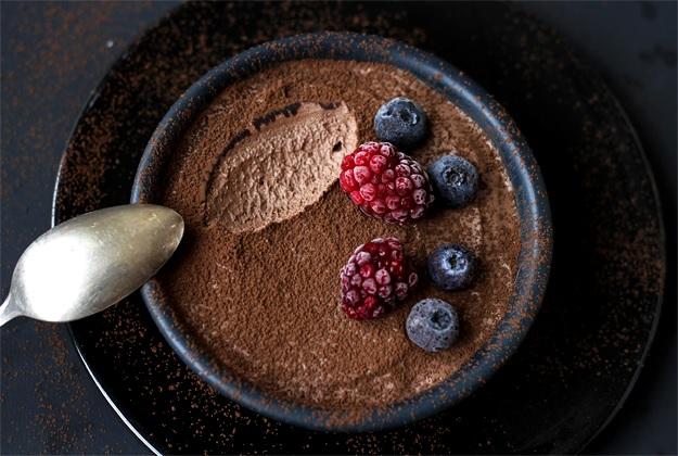 Einfaches Mousse au Chocolat Rezept