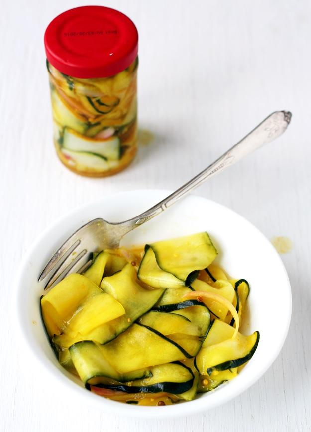 Schnell Eingelegte Zucchini Rezept