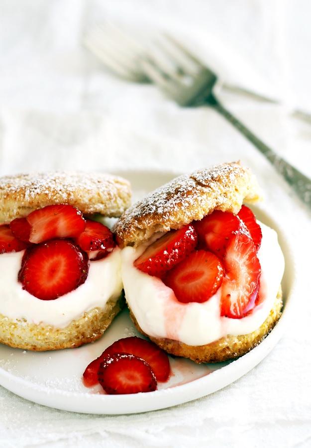 Erdbeer Shortcakes Rezept