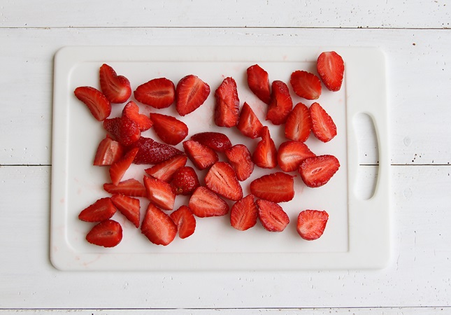 Erdbeeren für Dutch Baby Rezept