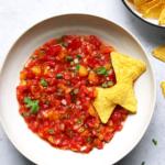 Fermentierte Tomaten Pfirsich Salsa – fertig in 2 Tagen
