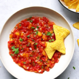 Fermentierte Tomaten Pfirsich Salsa Rezept