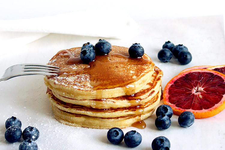 Fluffige Buttermilk Pancakes Rezept