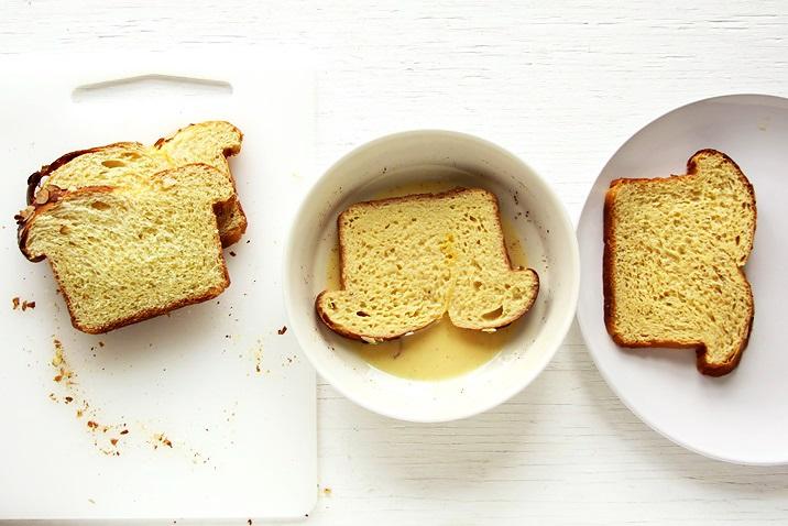 French Toast mit Brioche Rezept
