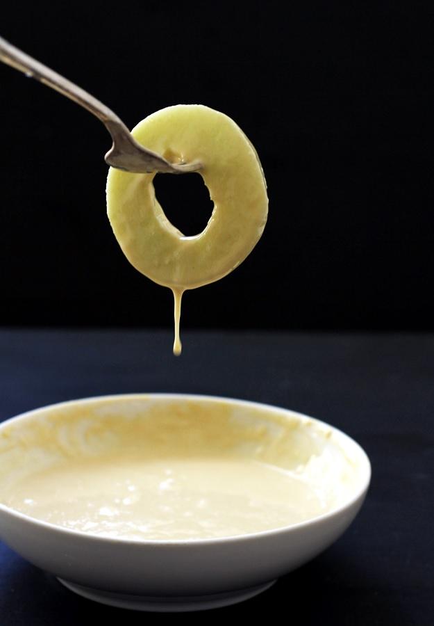 Gebackene Apfelringe Einfaches Rezept