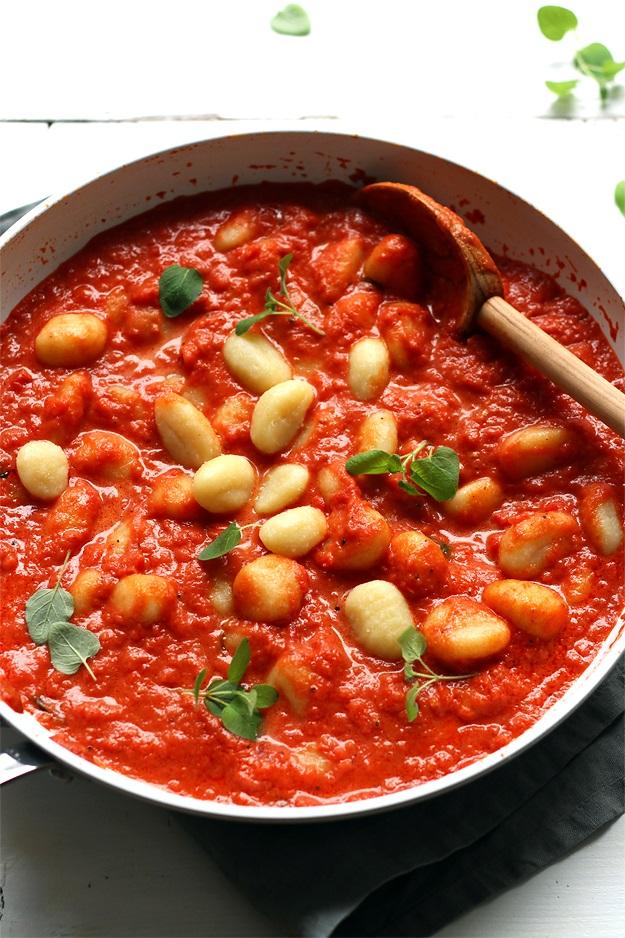 Gnocchi mit Tomatensauce Rezept