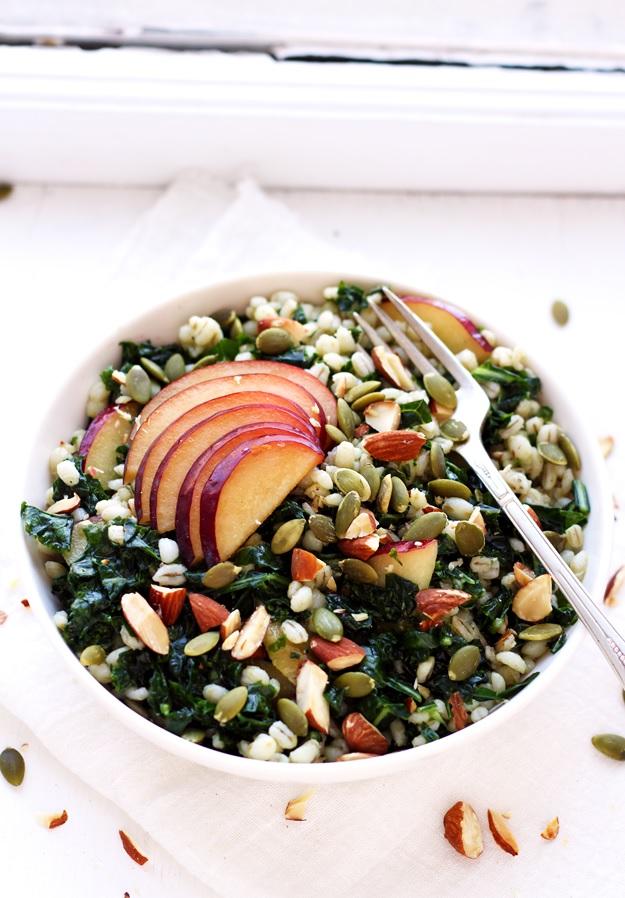 Grain Salad mit Grünkohl Rezept