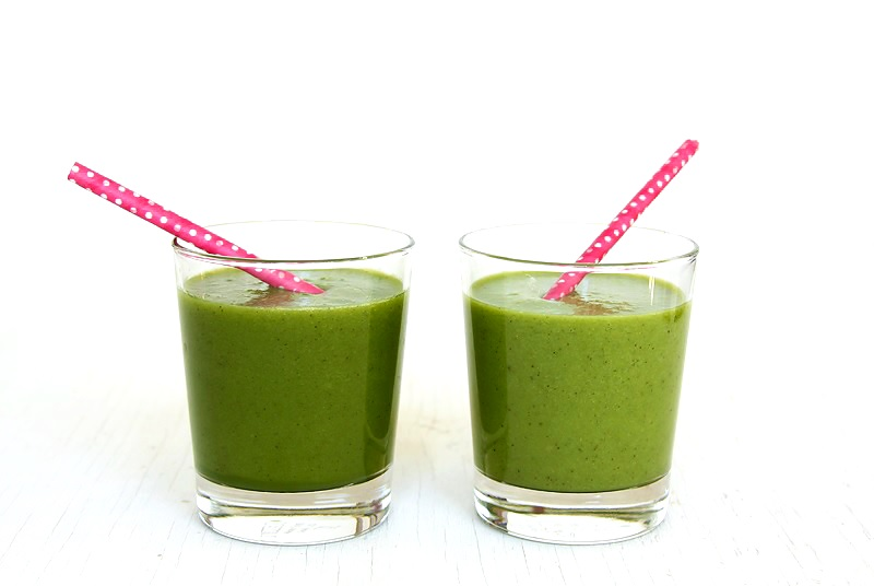 Grüner Smoothie Einfaches Rezept