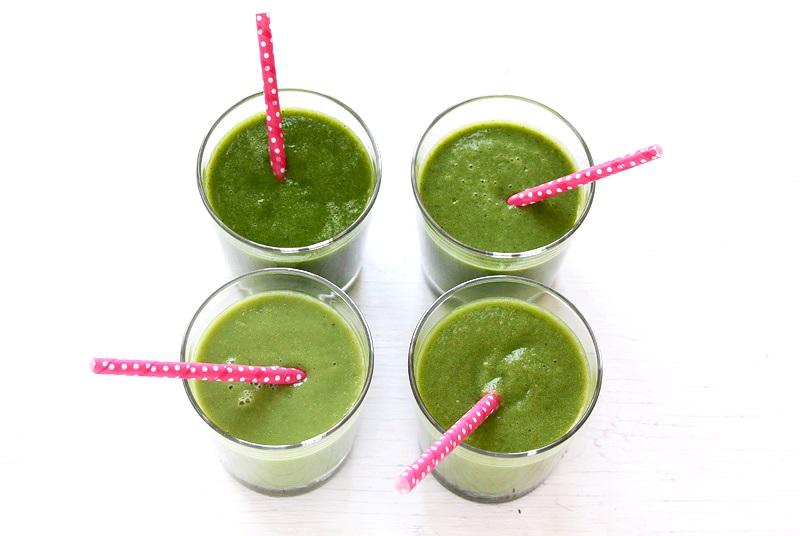 Grüner Smoothie Grundlagen Rezept