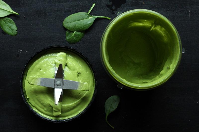 Grünes Spinat Hummus Rezept