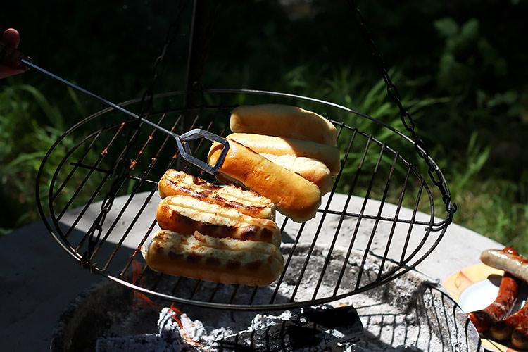 Hot Dog Brötchen einfaches Rezept