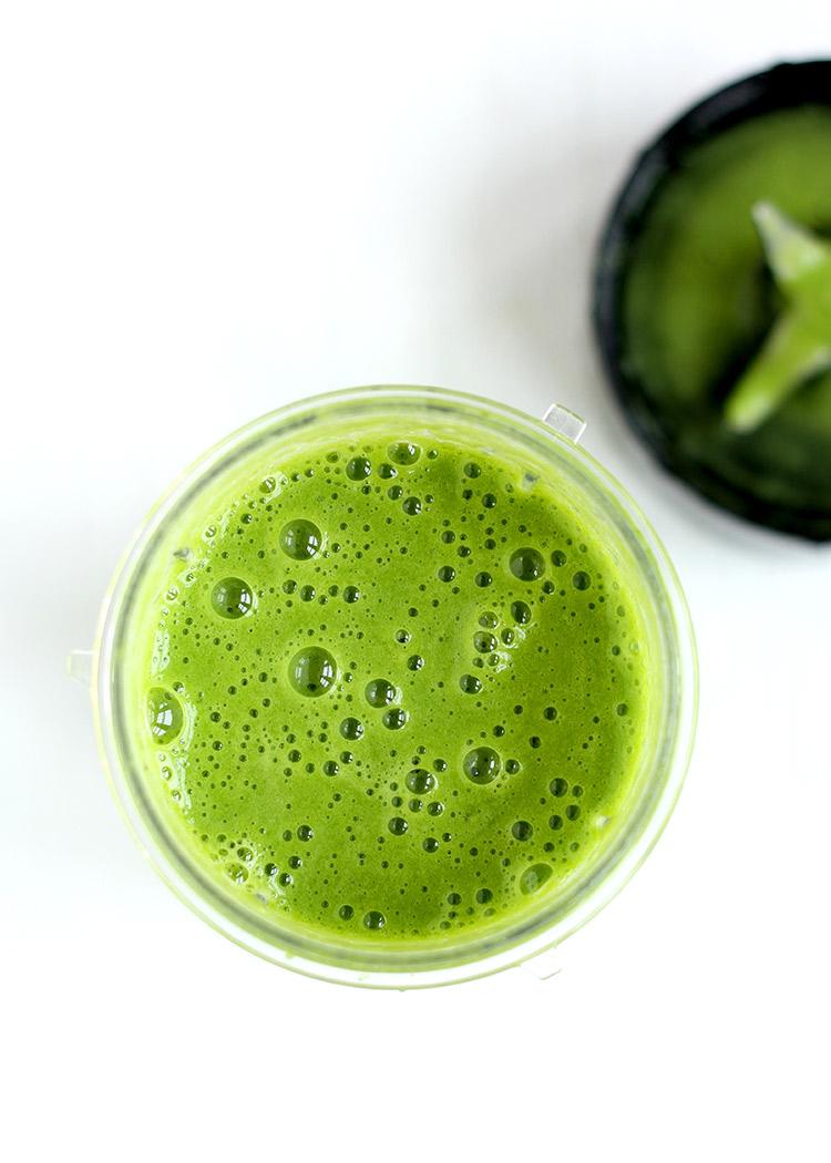 Intensiv grüner Smoothie Rezept