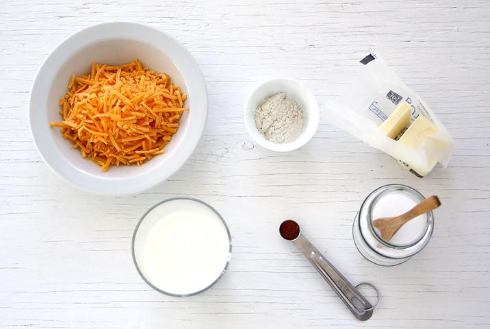 Schneller Käse Dip Zutaten
