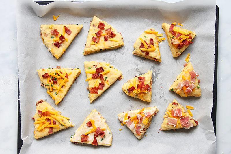 Käse Speck Scones Rezept einfach