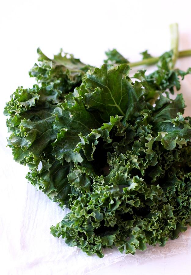 Kale / Grünkohl für Grain Salad