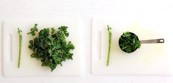 Kale/Grünkohl für Green Smoothie