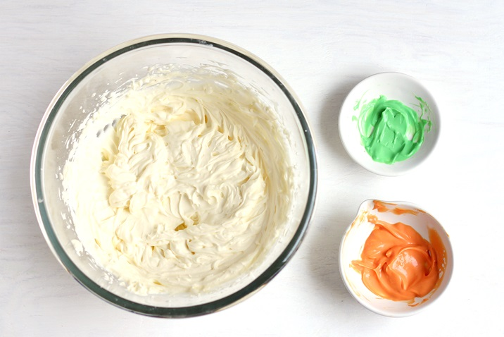 Karottenkuchen Deko Frosting