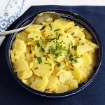 Oberösterreichischer Erdäpfelsalat (Kartoffelsalat)