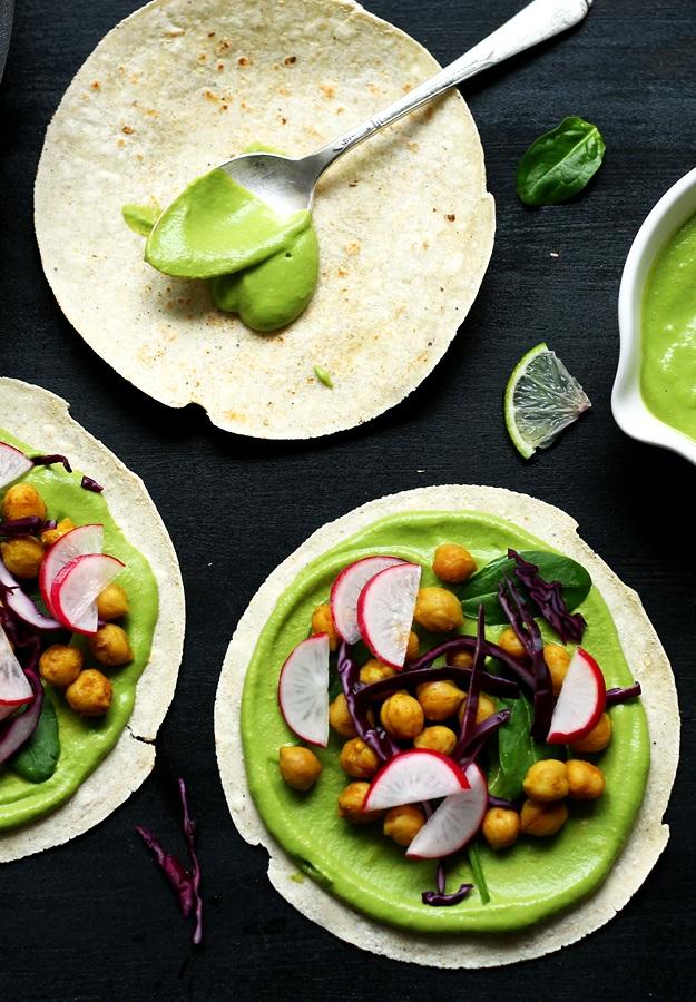 Kichererbsen Tacos Rezept