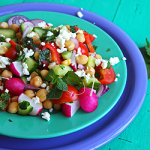 Salatit Hummus Maslouq – Kichererbsensalat