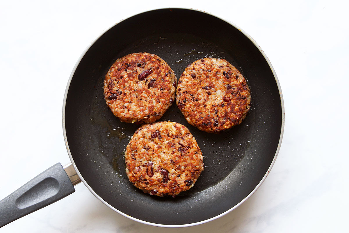Kidneybohnen Patties Rezept
