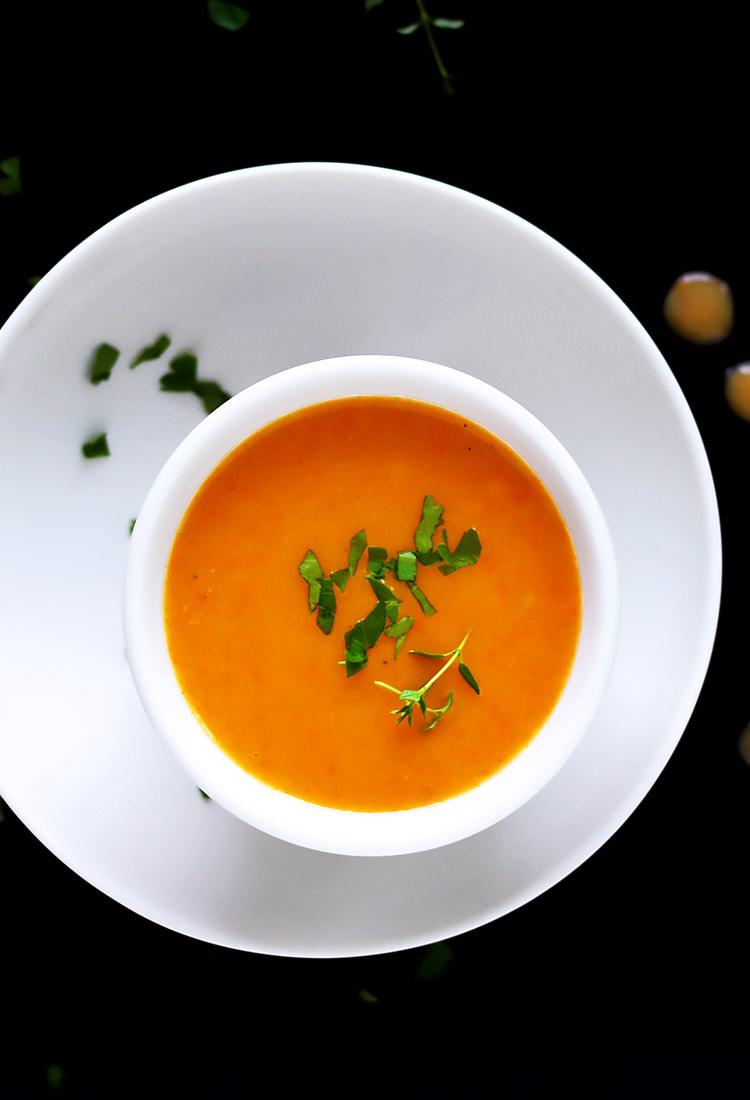 Klassische Gemüsesuppe püriert Rezept